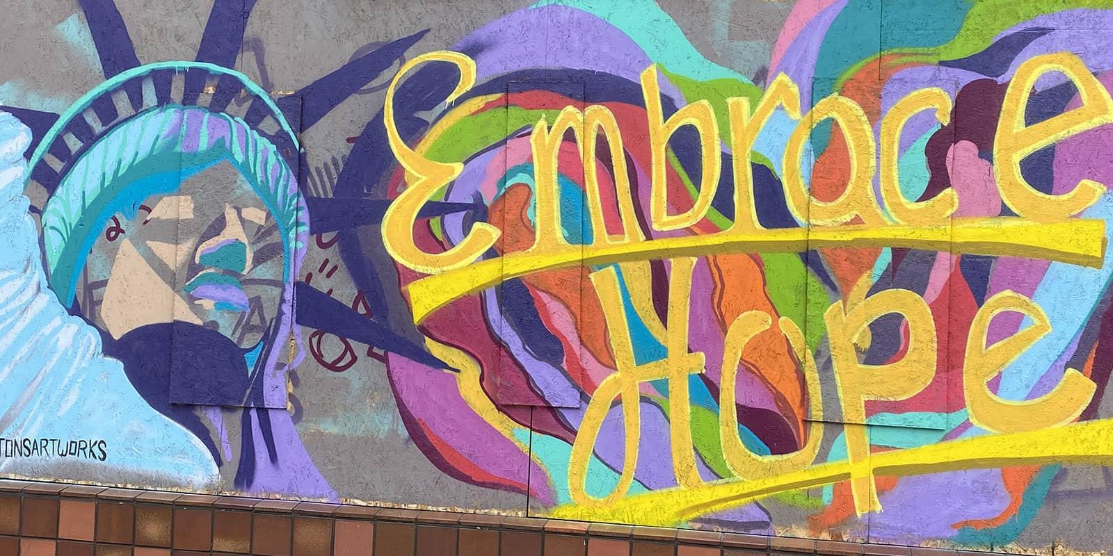 Embrace Hope Mural